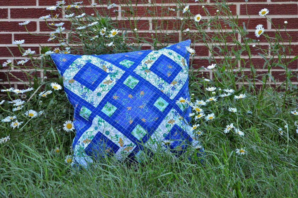 quilted pillow