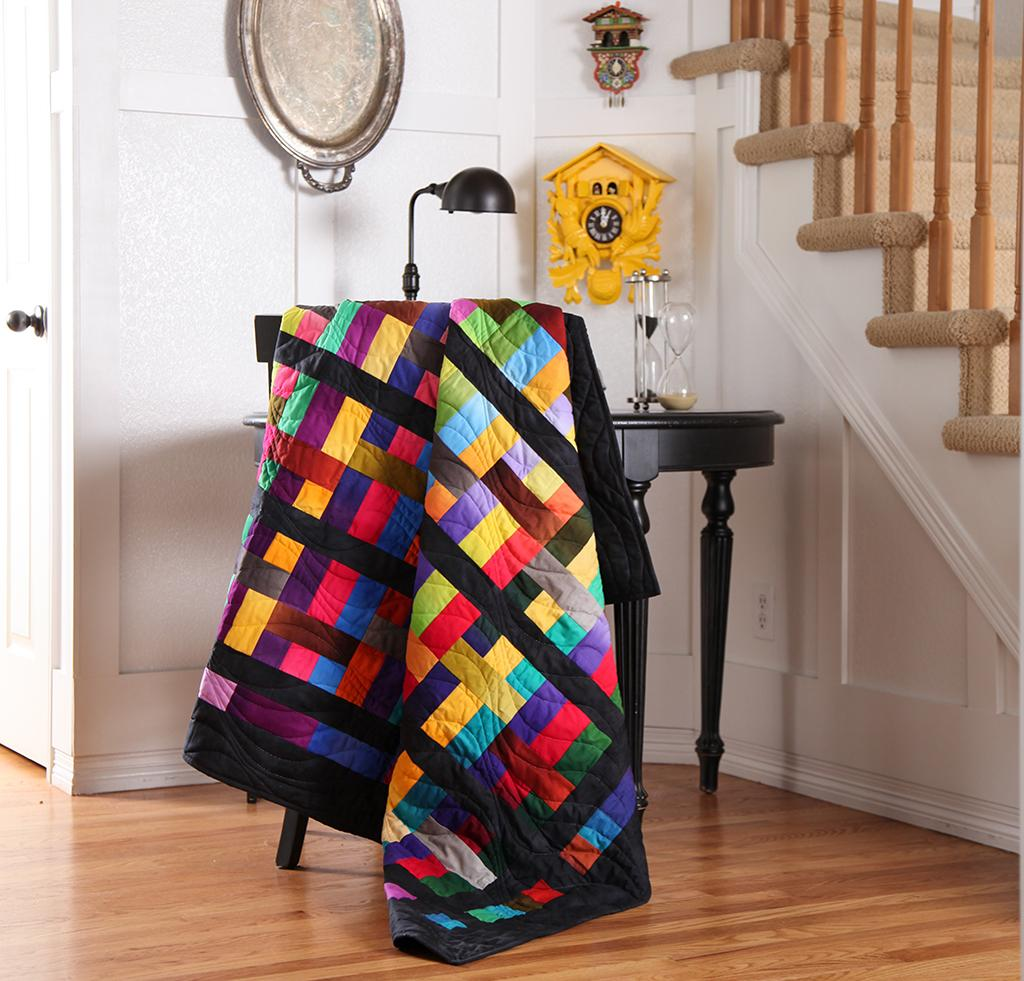Colorband Quilt Kit