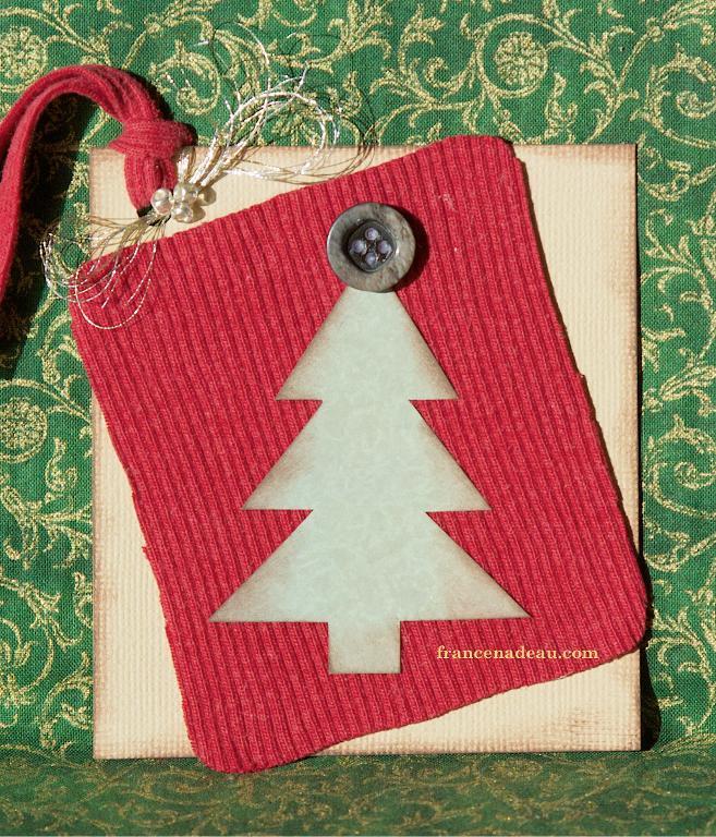 Christams Gift Tag Template