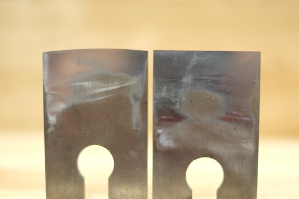 Cambered plane blade