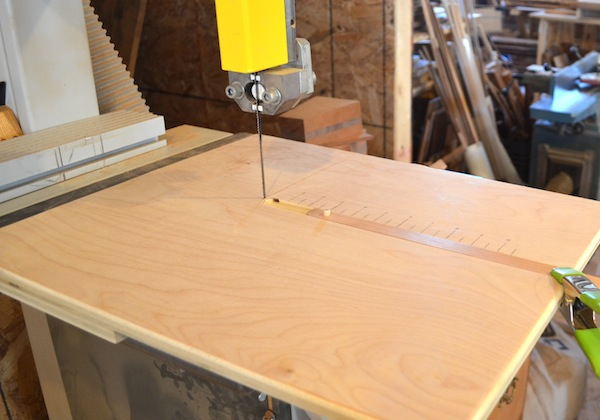 circle cutting jig