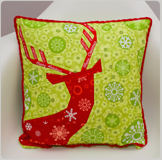 Deer Christmas Pillow