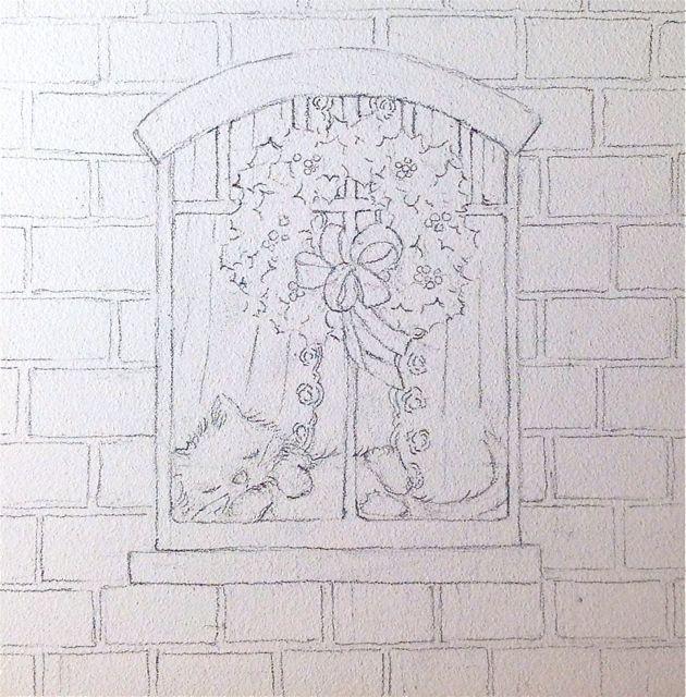 base window drawing