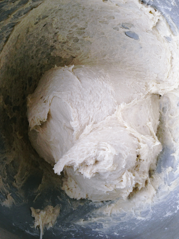Brioche Dough in a Bowl