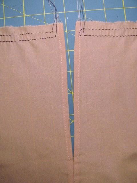 lining back seam