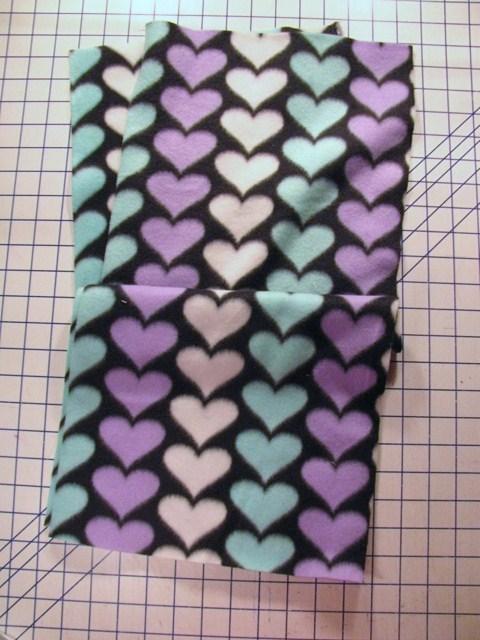 cut 2 base fabric