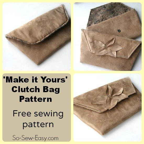 Make It Yours Clutch Bag
