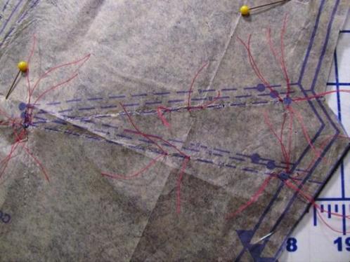 Tailor's tacks 5