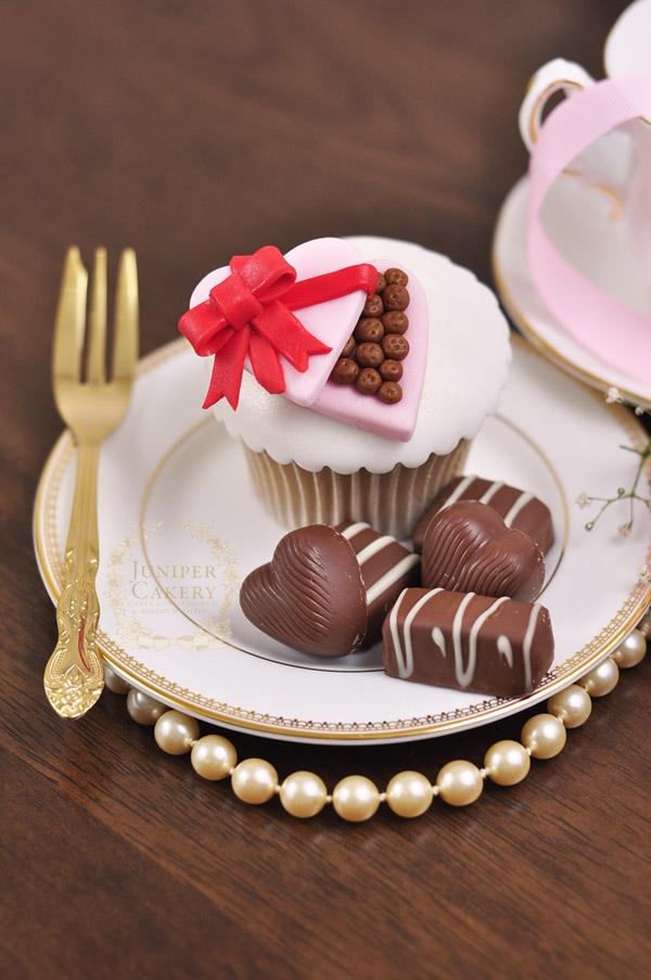 Cute Valentine Cupcake