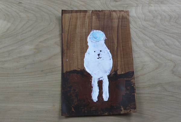 credit card painting