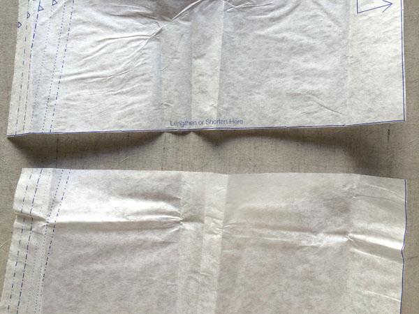 lengthen or shorten line