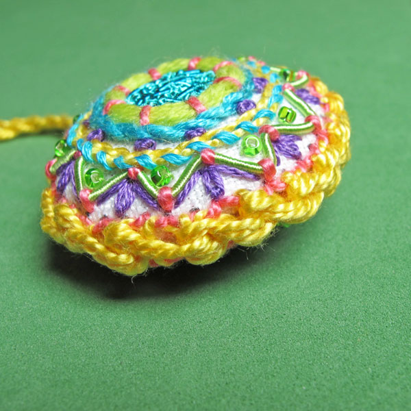 Embroidered Fiesta Fob