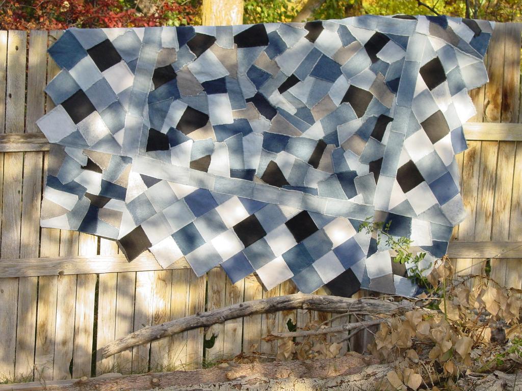 Crazy Denim Quilt Pattern