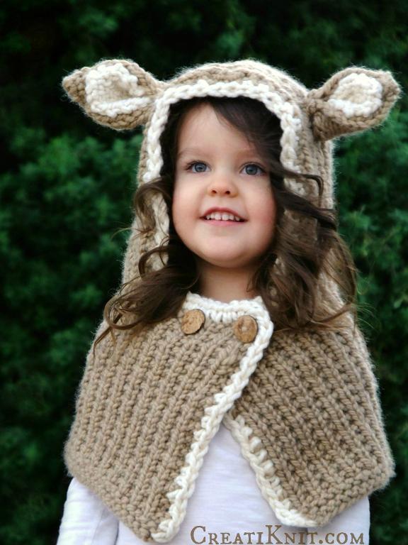 Felicia Fawn Cowl knitting pattern