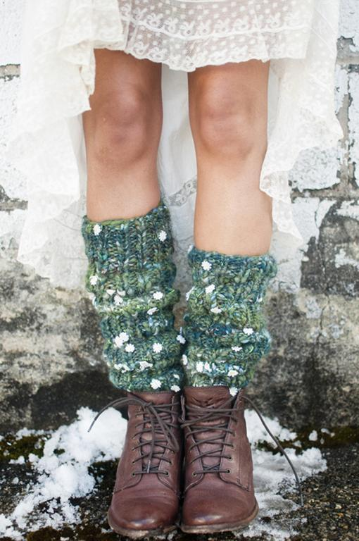 Chelsea Morning Leg Warmers knitting pattern
