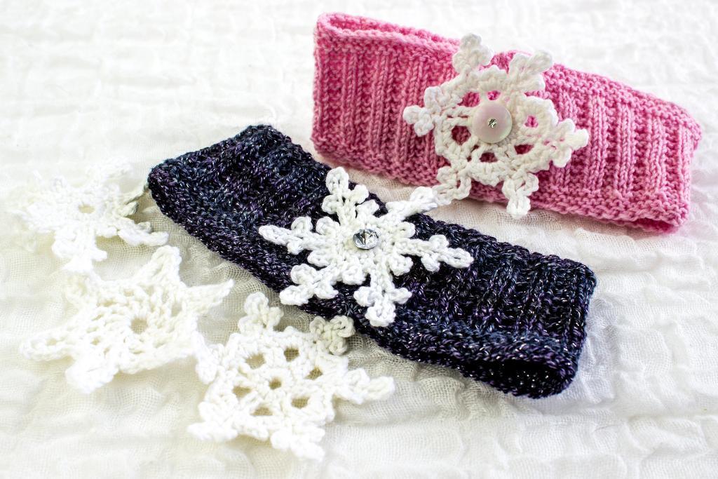 Snowflake Earwarmer