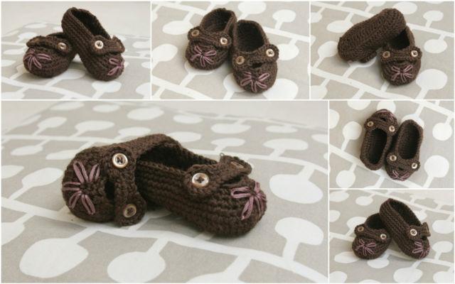 Crochet Baby Booties crochet pattern