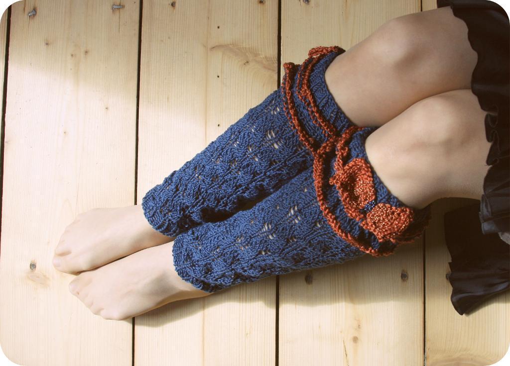 Lace Leg Warmers knitting pattern