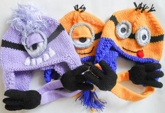 Minion Hat knitting pattern