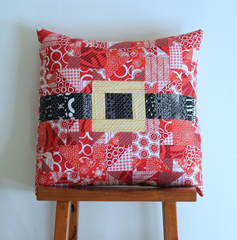 Modern Merry Christmas Pillow Pattern