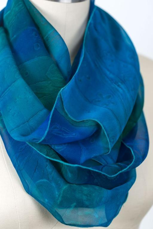 Infinity Scarf — sewn with a serger!