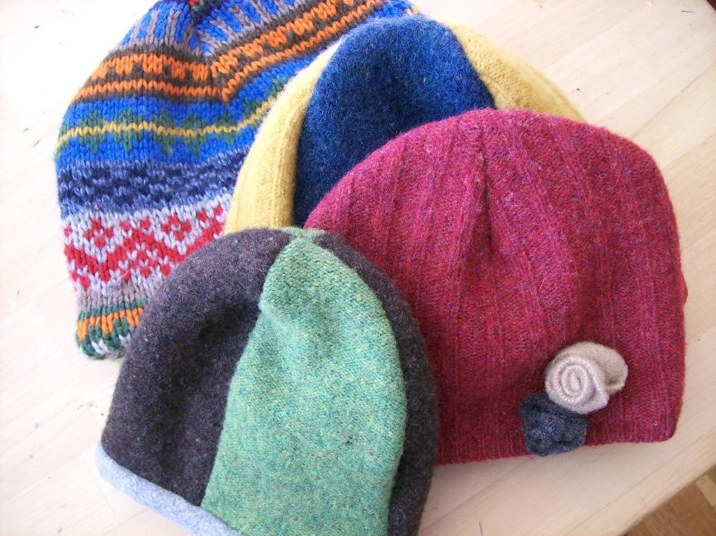 Recycled Sweater Hat