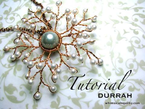 Durrah Snowflake Pendant