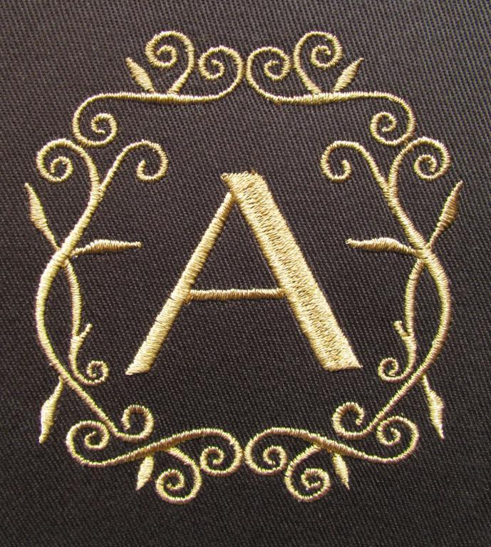 Floral Monogram Alphabet Upper Lowercase
