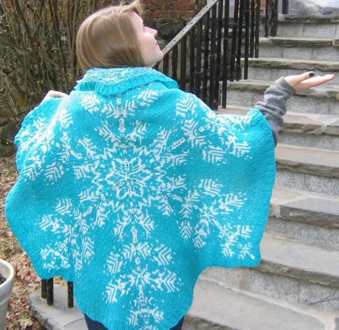 Snowflake Shawl knitting pattern