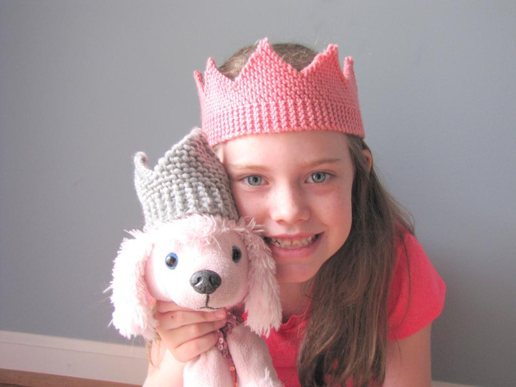 Royal Crown knitting pattern