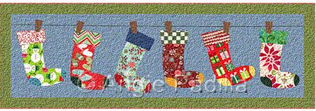 Jolly Stockings Runner