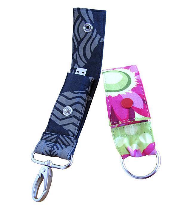 USB Key Fob sewing pattern