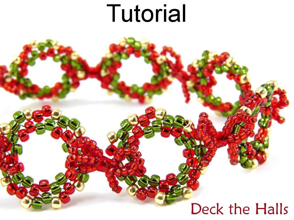 Deck the Halls Christmas Bracelet