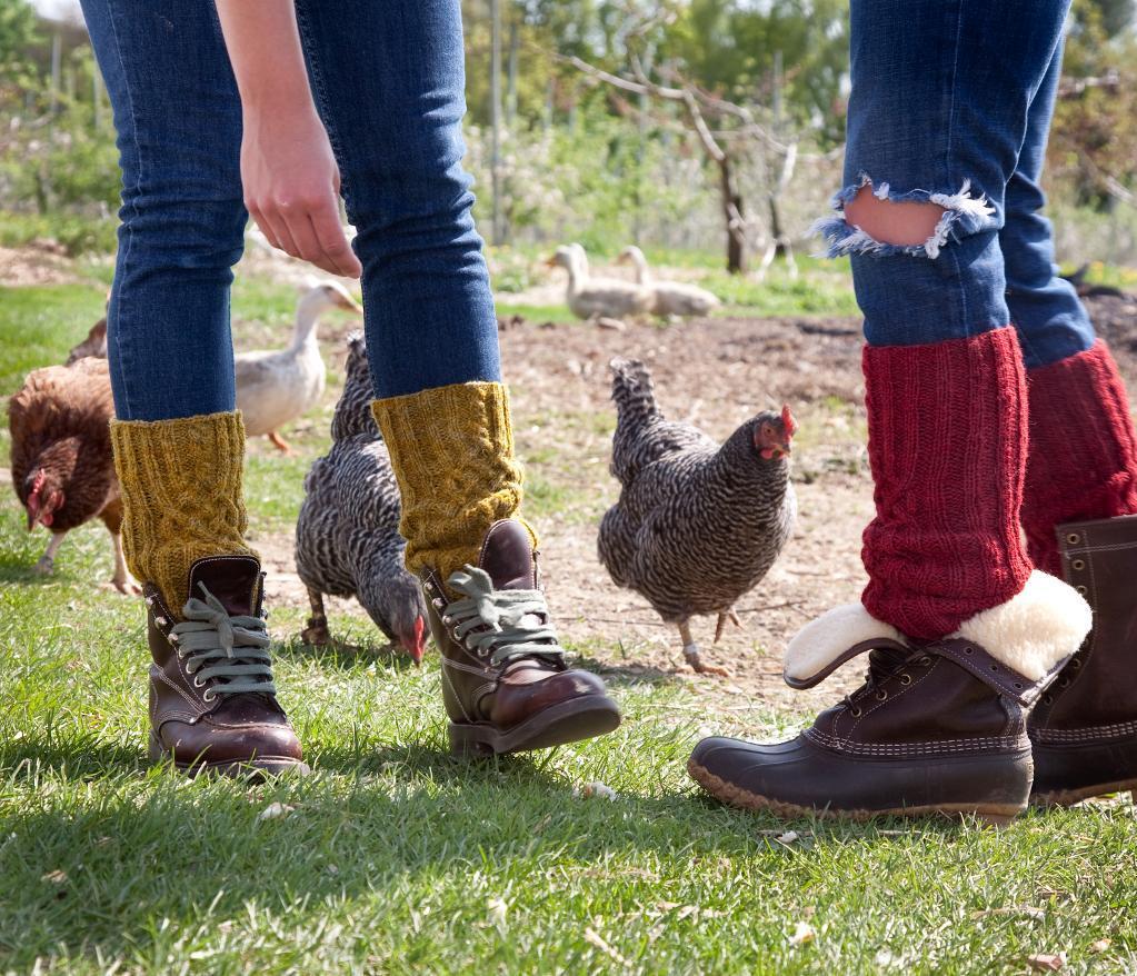 Leg Warmers and Socks knitting pattern