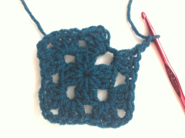 How to crochet a granny square on the Bluprint Blog!