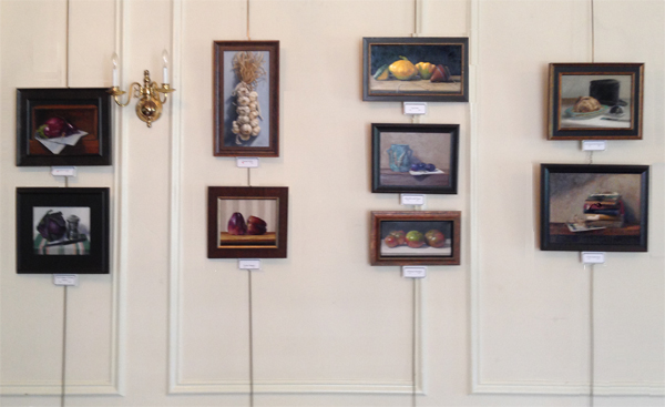 """Fresh Picks"" Art Show at historic Muscoot Farm Gallery via Dorothy Lorenze"