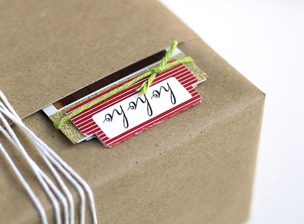 present tag pocket