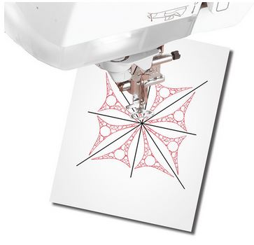 Print and Stick Target Paper design template.