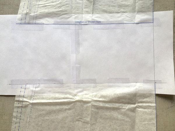 tape bottom pattern