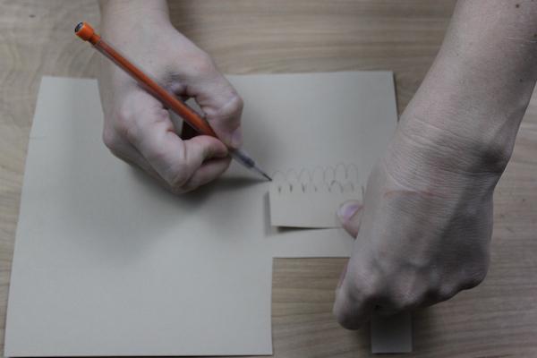 Creating textures- scallop