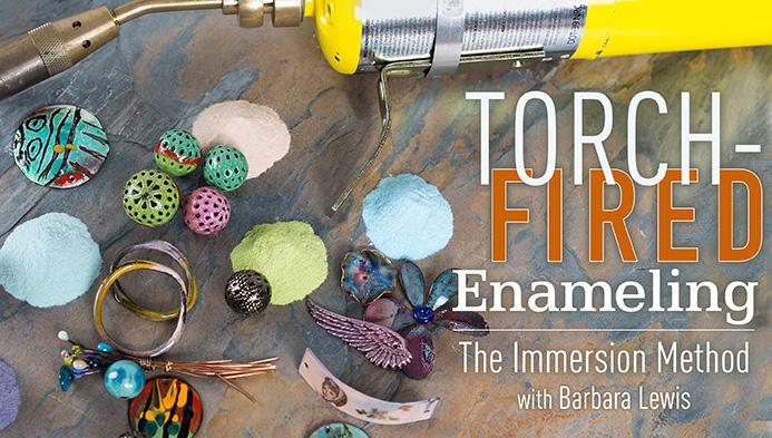 torch fired enamel