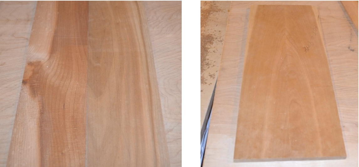 two options for wood