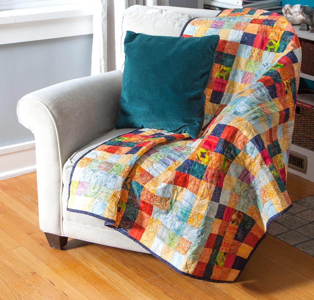 Checker Board Mosaic Quilt Kit