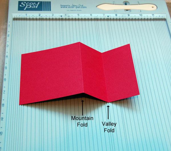 Folds indicated