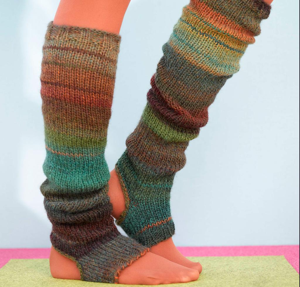 Sausalito Stirrup Socks knitting kit