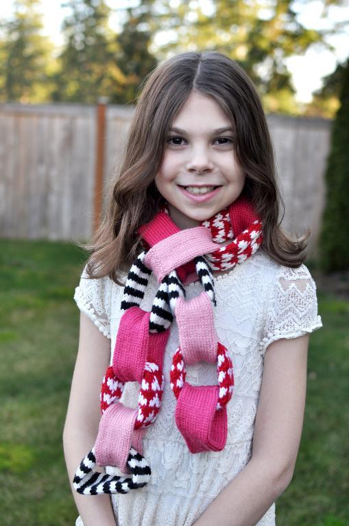 AllMyHeartChainScarf