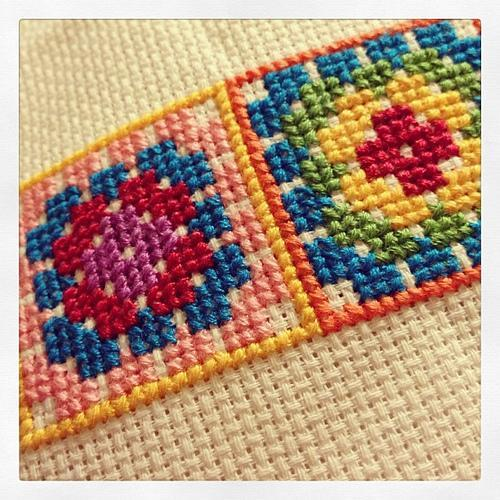 Cross Stitch Granny Square