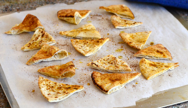 Freshly Baked Pita Chips