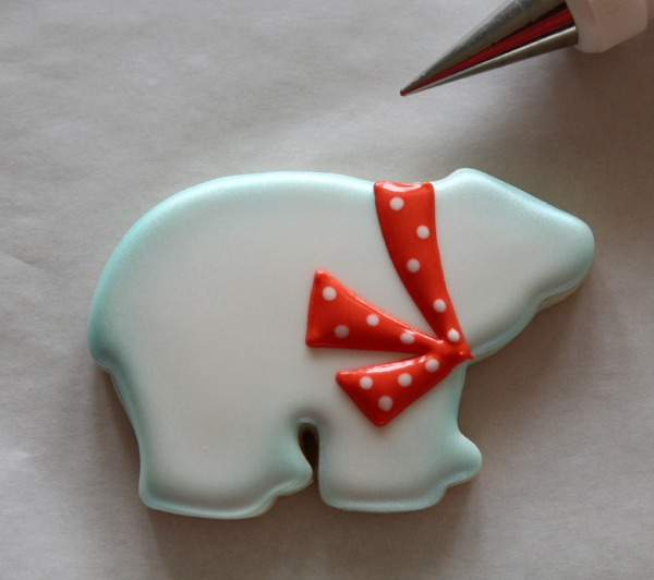 Decorated Polar Bear Cookie 5