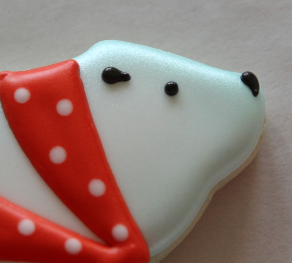 Decorated Polar Bear Cookie 6